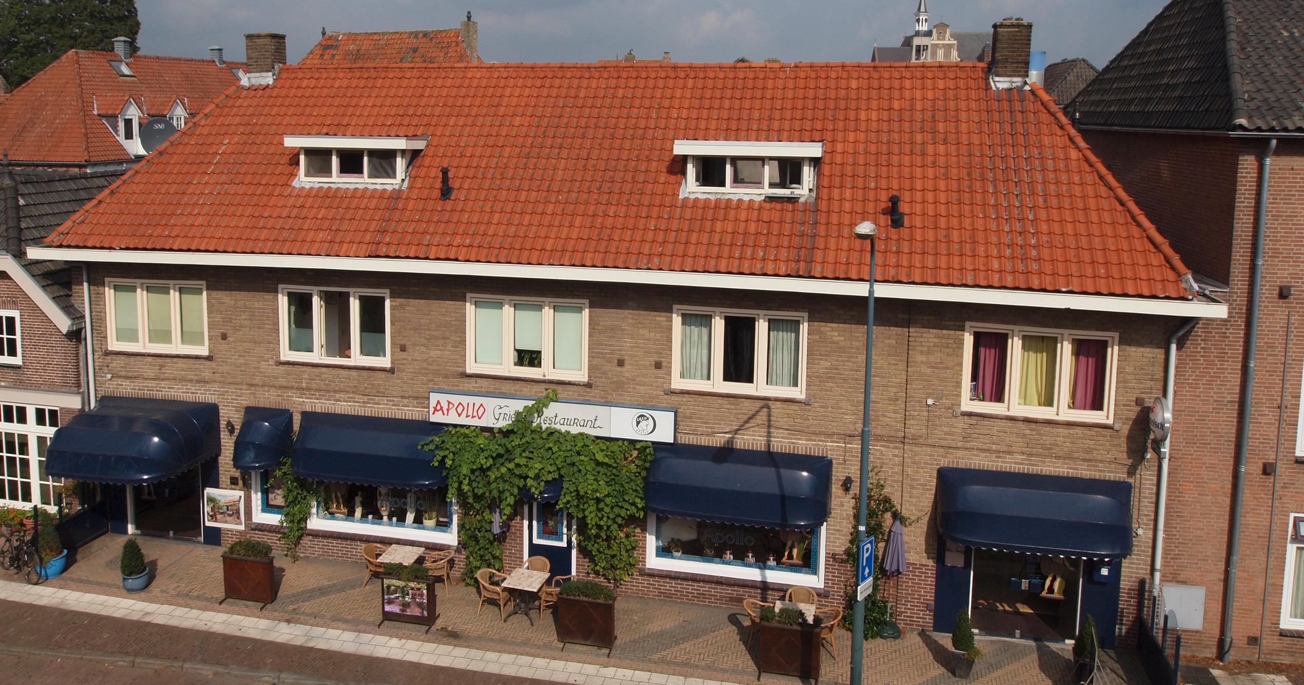 Grieks restaurant Apollo voorzijde