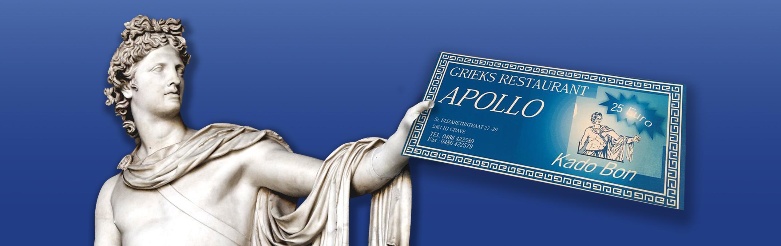 Cadeaubon Apollo